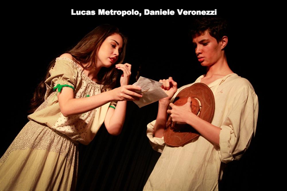 Lucas Metropolo, Daniele Veronezzi