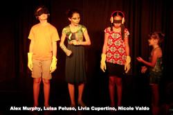 Alex Murphy, Luisa Peluso, Livia Cup