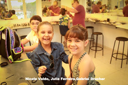 Nicole Valdo, Julia Ferreira,Gabriel