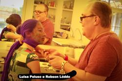 Luisa Peluso e Robson Lóddo