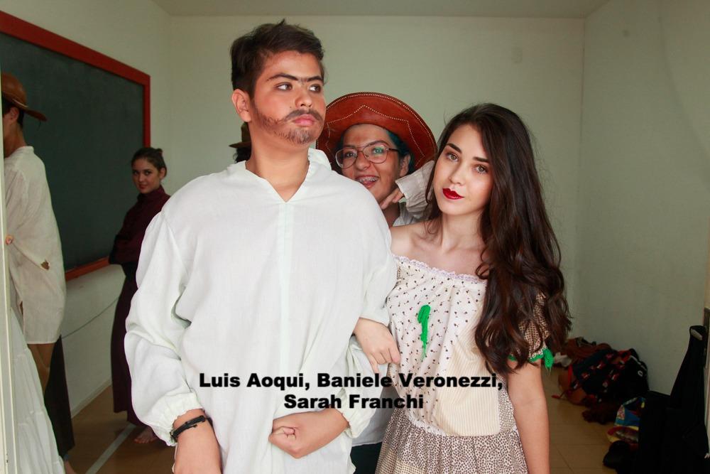 Luis Aoqui, Baniele Veronezzi, Sarah