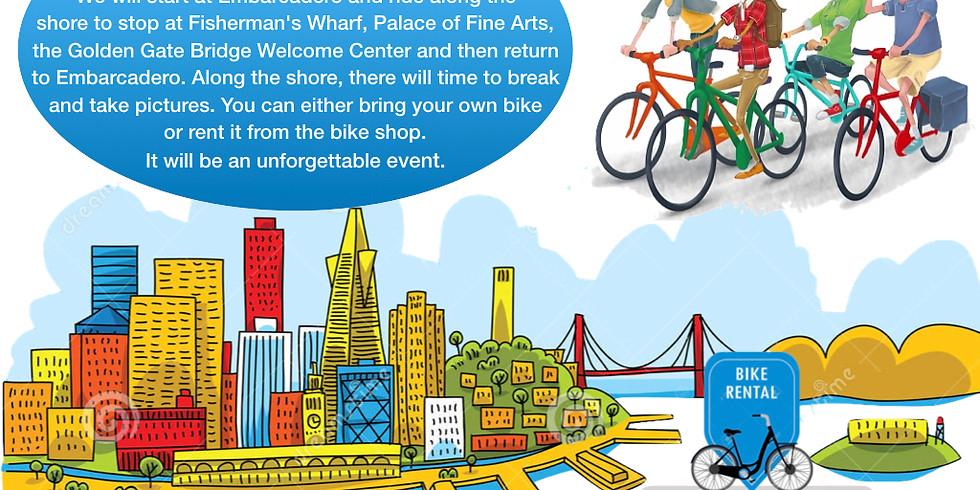 Bike Ride @ S.F. Golden Gate Bridge