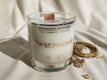 The Persephone Goddess Candle