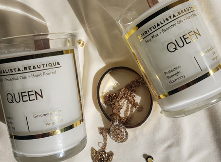 The Queen Affirmation Candle