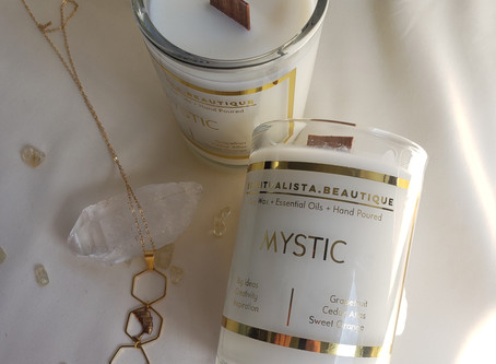 The Mystic Affirmation Candle