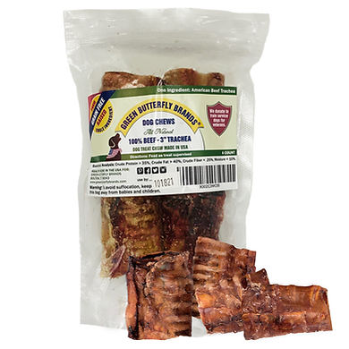 """Beef Trachea 3"""" - 4 Pack"""