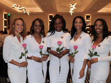 Our chapter concluded our program year by welcoming 6 new legacy mother members and celebrating our