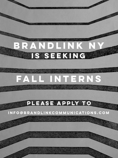 Fall Intern Ad