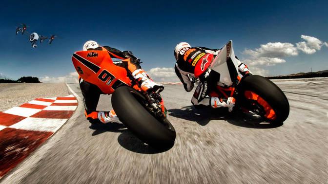 tournage go vision production moto GP ci