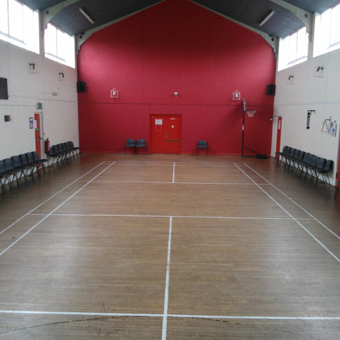 Main Hall = £9.00 per hour to hire