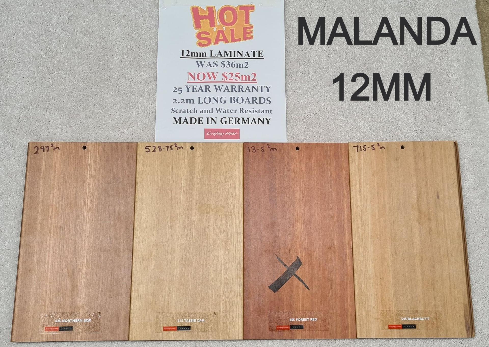 MALANDA 12MM 2.2 LONGBOARD LAMINATE