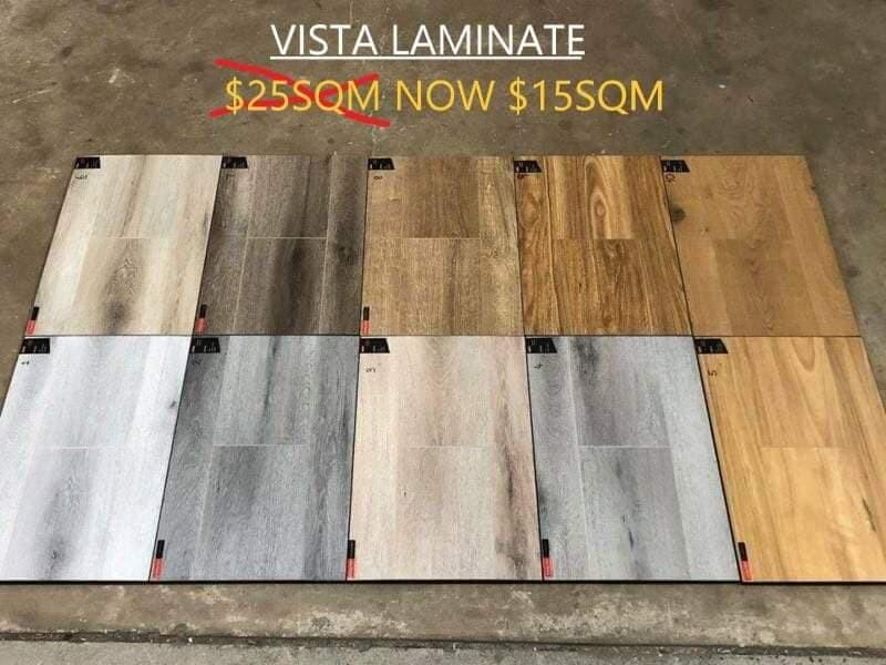 VISTA AC3 8MM LAMINATE