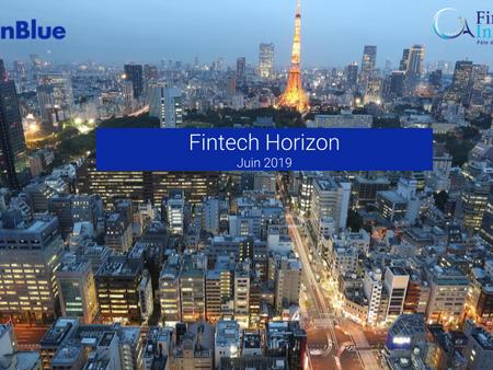 Fintech Horizon 2019