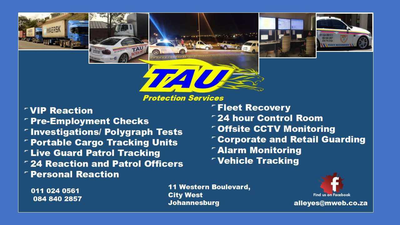 CCTV | Gauteng | Tau Protection Services