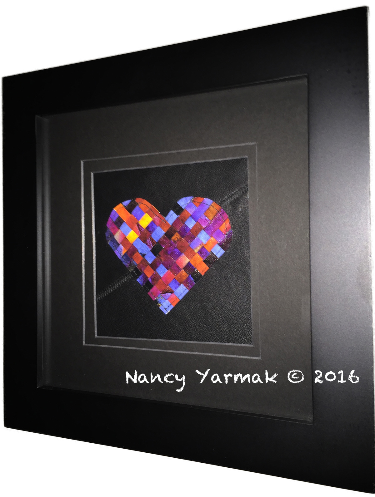 Small Woven Heart-Nancy Yarmak