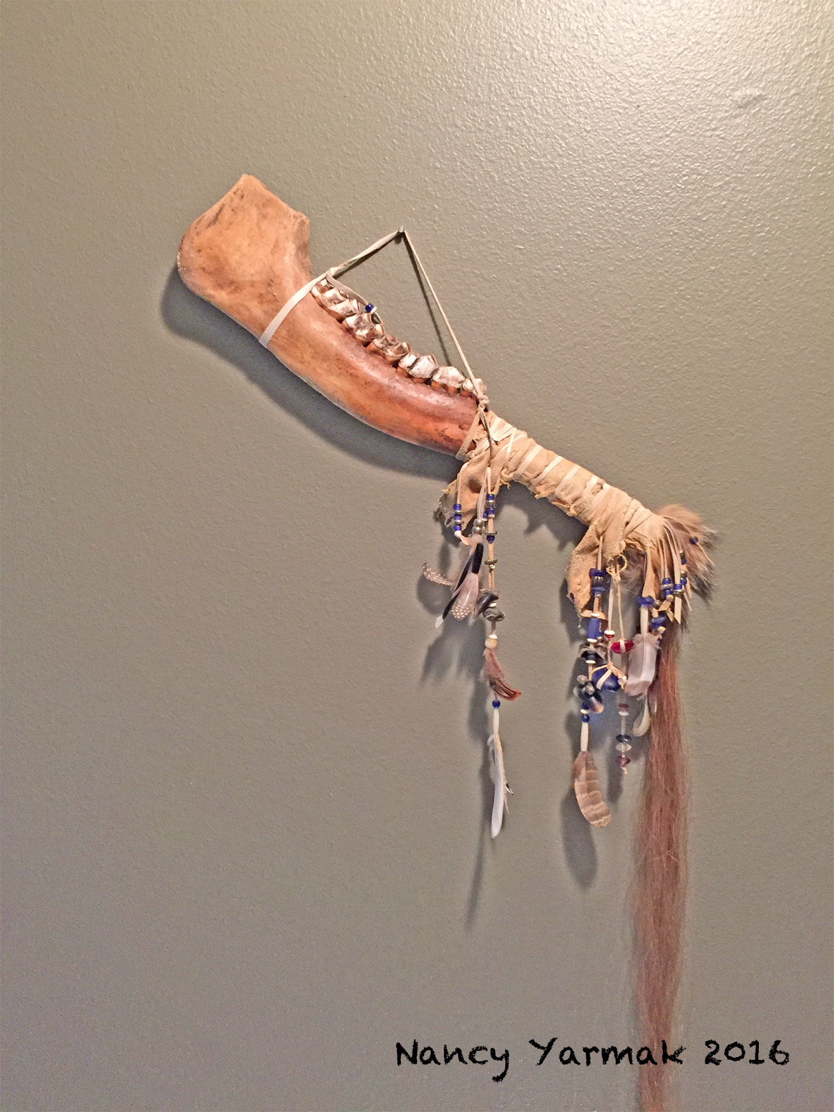 Moose Jaw Wallhanging-Nancy Yarmak
