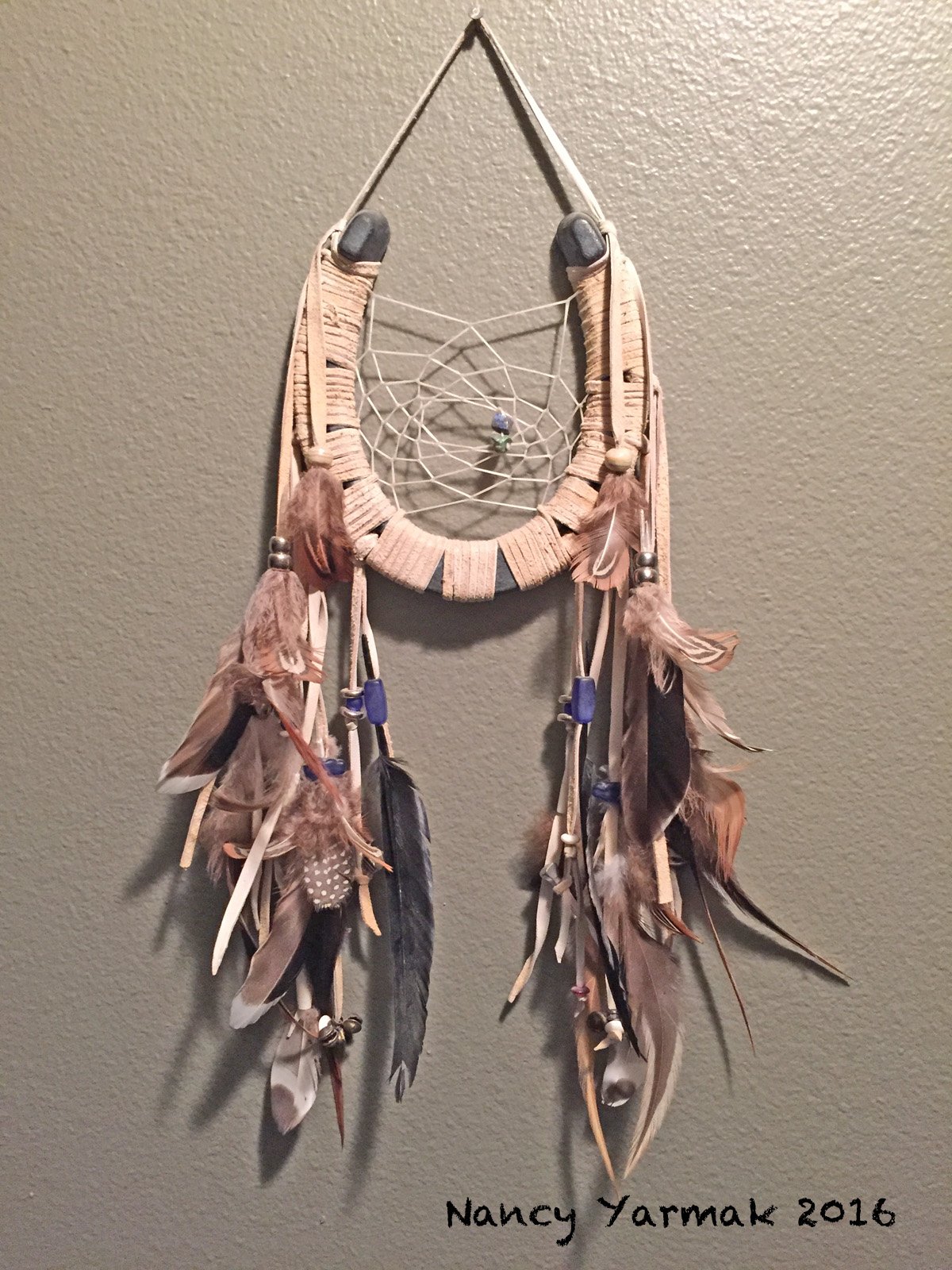 Horseshoe Dreamcatcher1-Nancy Yarmak