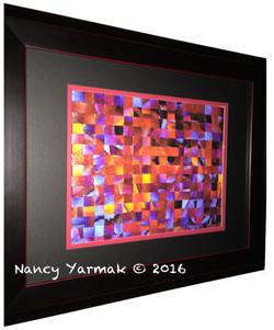 Icy Embers Weave-Nancy Yarmak