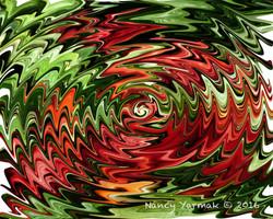 Spicy Peppers Swirls-Nancy Yarmak