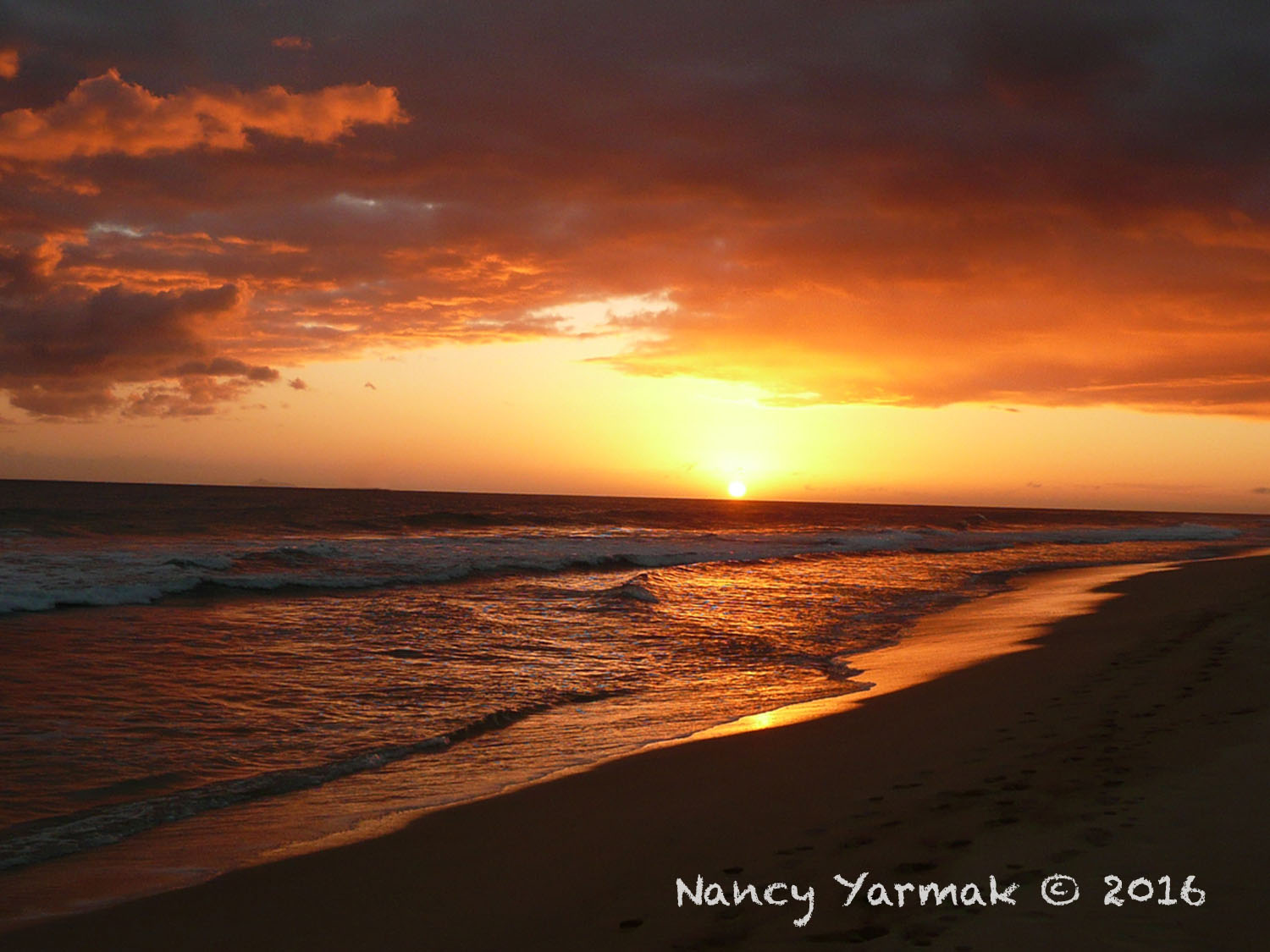 Hawaiian Sunset-Nancy Yarmak