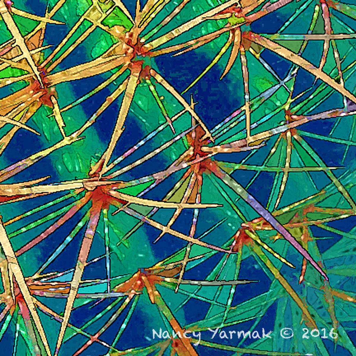 Groovy Cactus-Nancy Yarmak