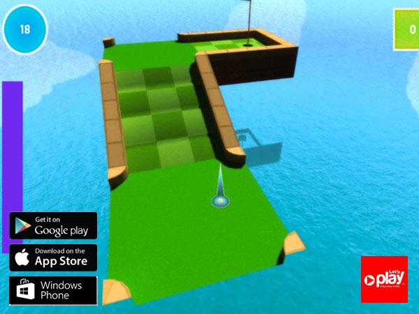 3DMiniGolf | Let's Play รับทําแอพ