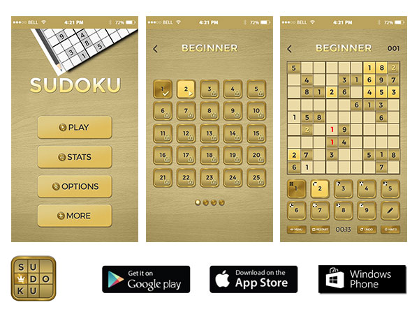 Sudoku | Let's Play รับทําแอพ