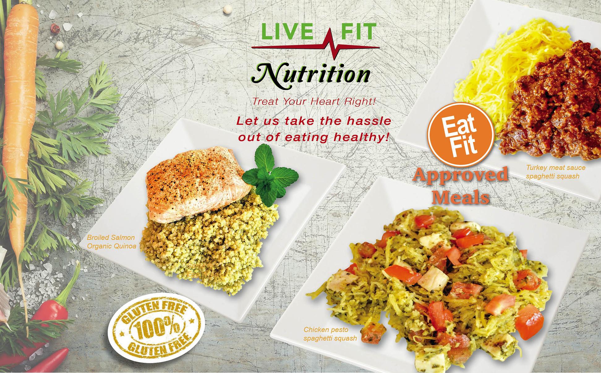 Gluten free meals, Health food, prepared meals
