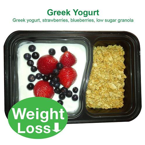 Greek Yogurt, Berries, Granola