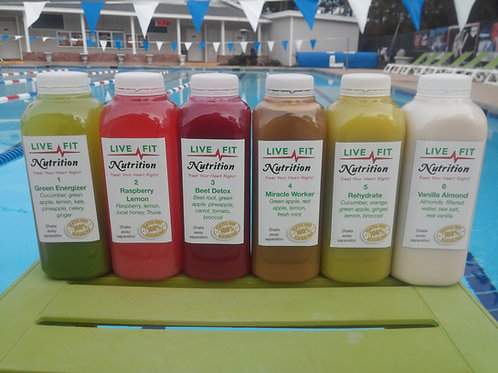3 Day Juice Cleanse (18 Juices)