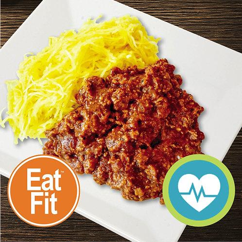 Turkey Meat Sauce w Spaghetti Squash