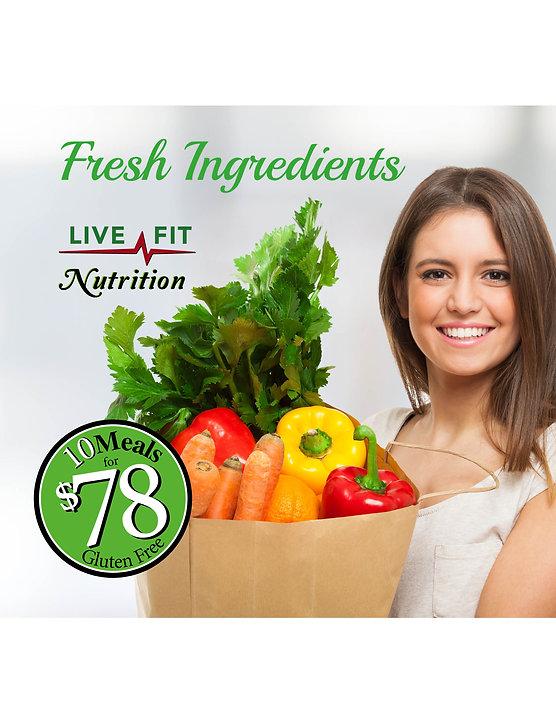 Gluten free meals, Health food, fresh ingredients