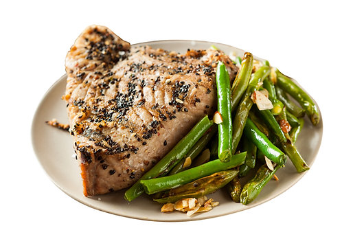 Tuna Steak w Asparagus