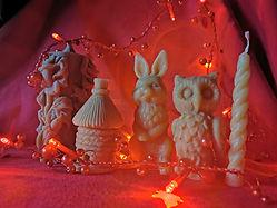 Figurines cire Miel Conques.jpg