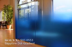 Sapphire Dot Gradient