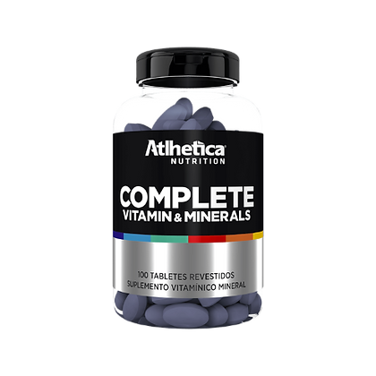 COMPLETE VITAMIN & MINERALS(100 TABLETS) ATLHETICA NUTRITION