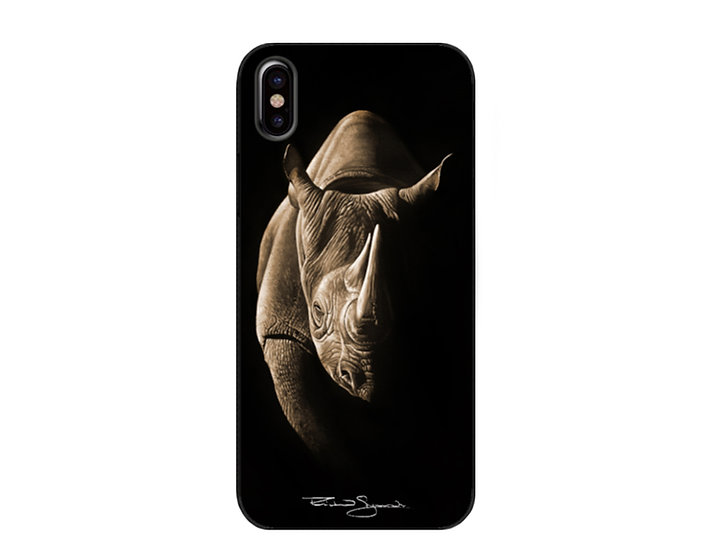 Black Rhino - Phone Case