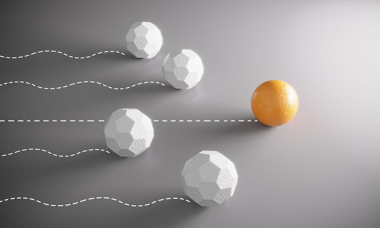bolas que ruedan