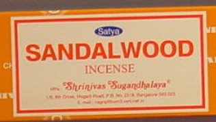 SANDALWOOD INCENSE BY SATYA