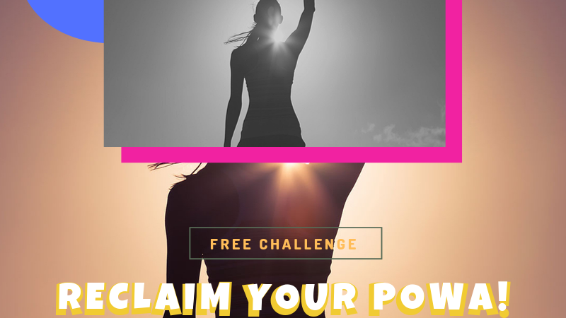 reclaim your powa 3 day live challenge  with najaam lee