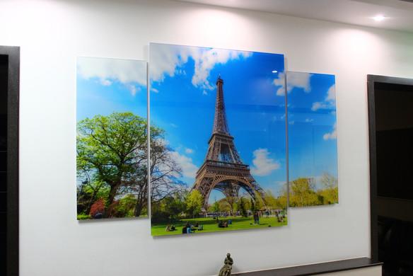 Картина на стекле из трех модулей