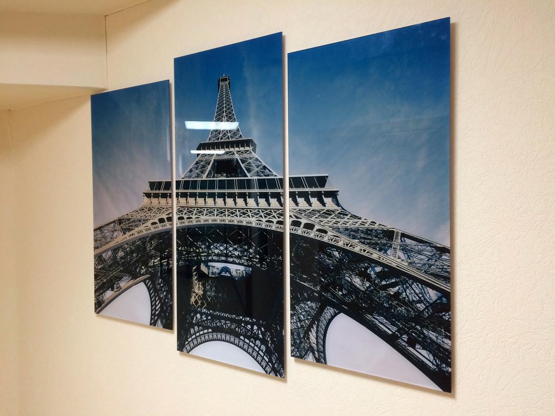 Картина на стекле - украшение офиса