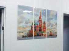 Картина на стекле для гостиницы