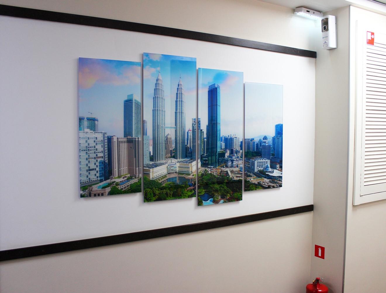 Картина модульная на стекле