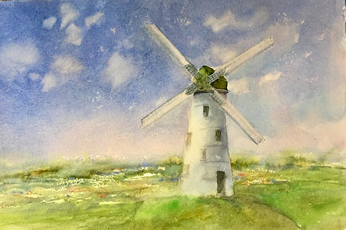 A Windmill in Bruges