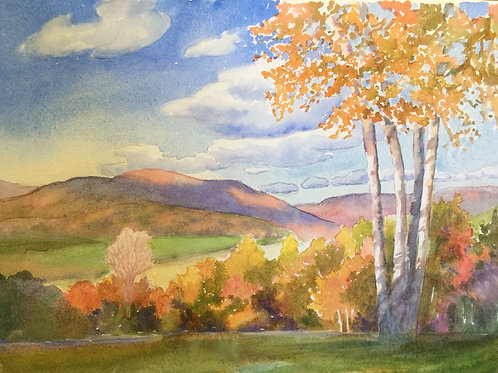 Autumn in Maine SOLD