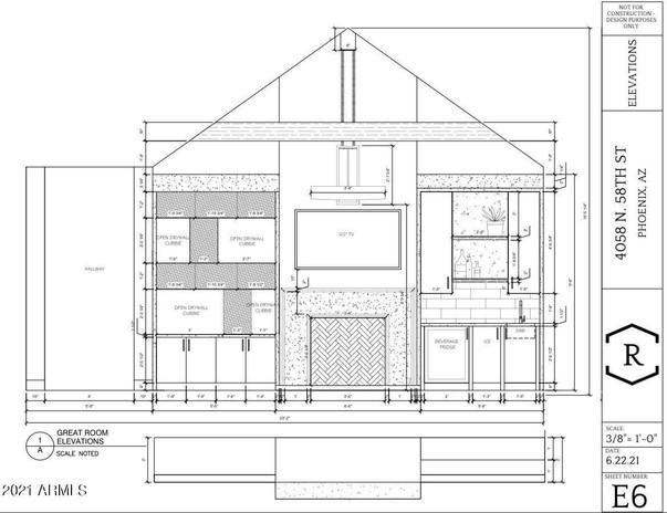 Custom Home Elevation