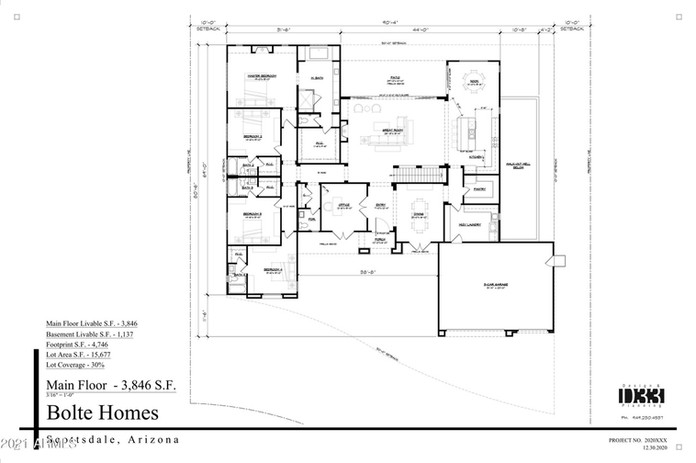 Custom Home Floorplan