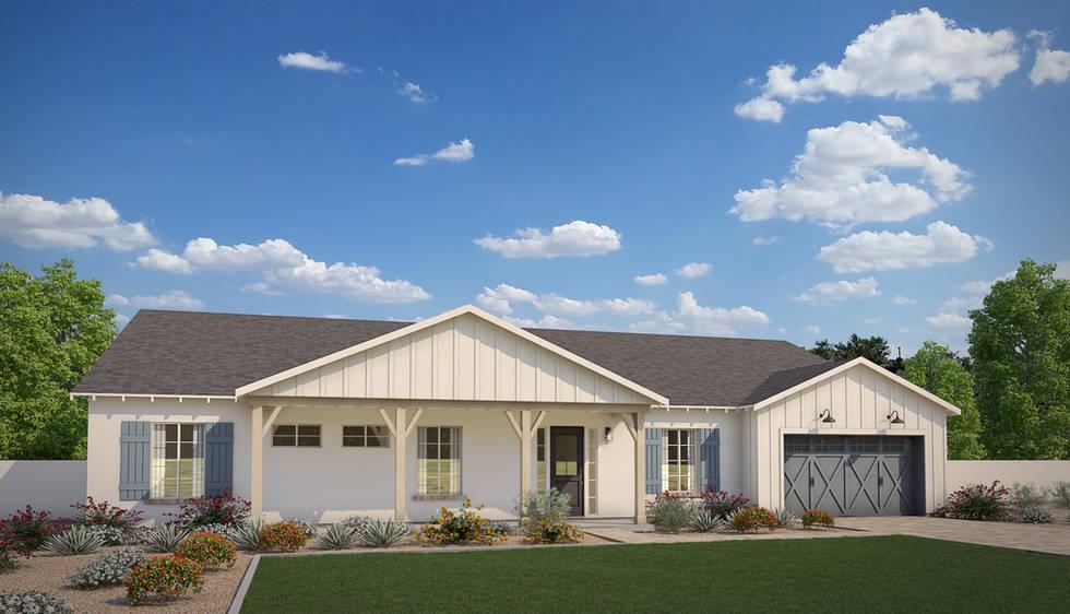Diller Grove - Plan 1 Modern Farmhouse
