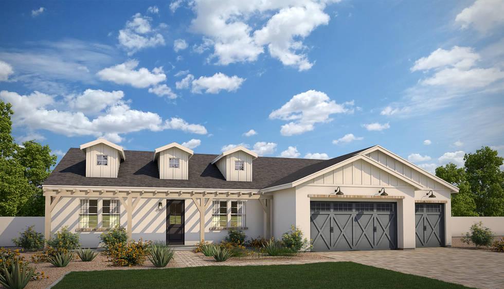 Diller Grove - Plan 3 Modern Farmhouse